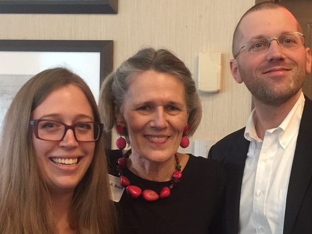 Full-time Faculty Members (from left) Brittany Ober, Dr. Frances Boyd, and Christopher W. Collins