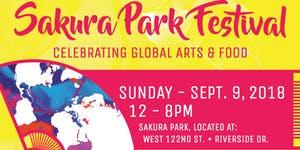 Sakura Park Festival logo