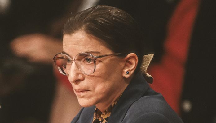 Ruth Bader Ginsburg by Rob Crandall / Shutterstock.com