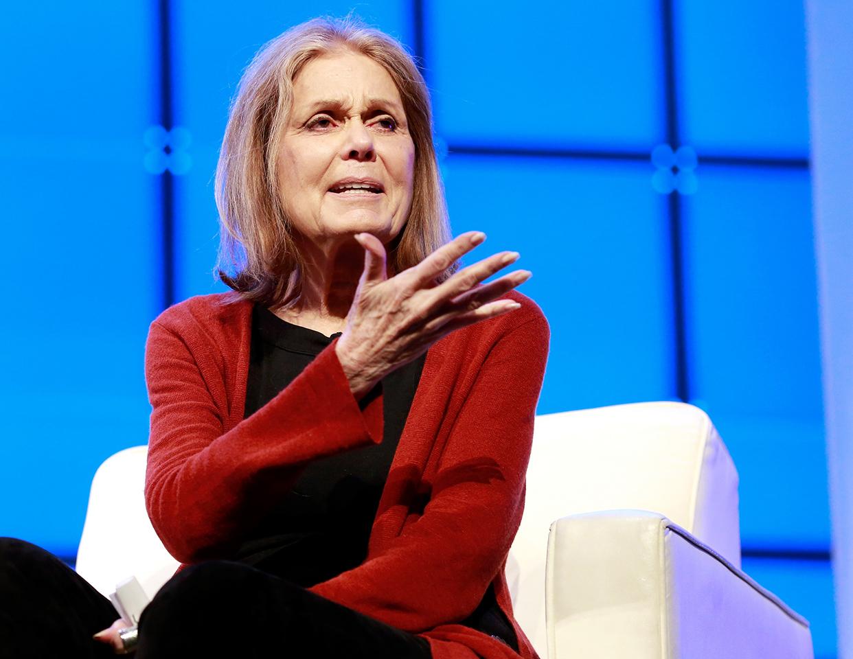Gloria Steinem.