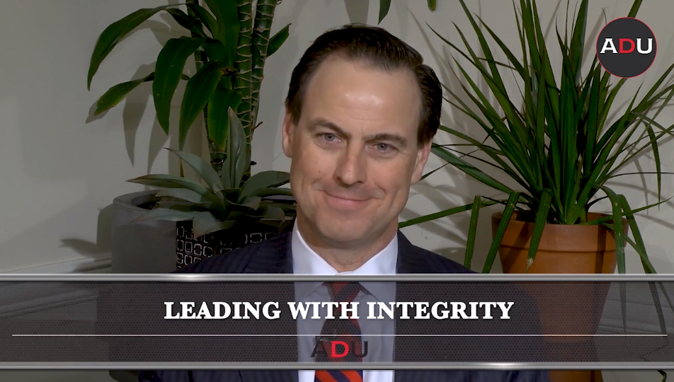 john currie discusses leading with integrity