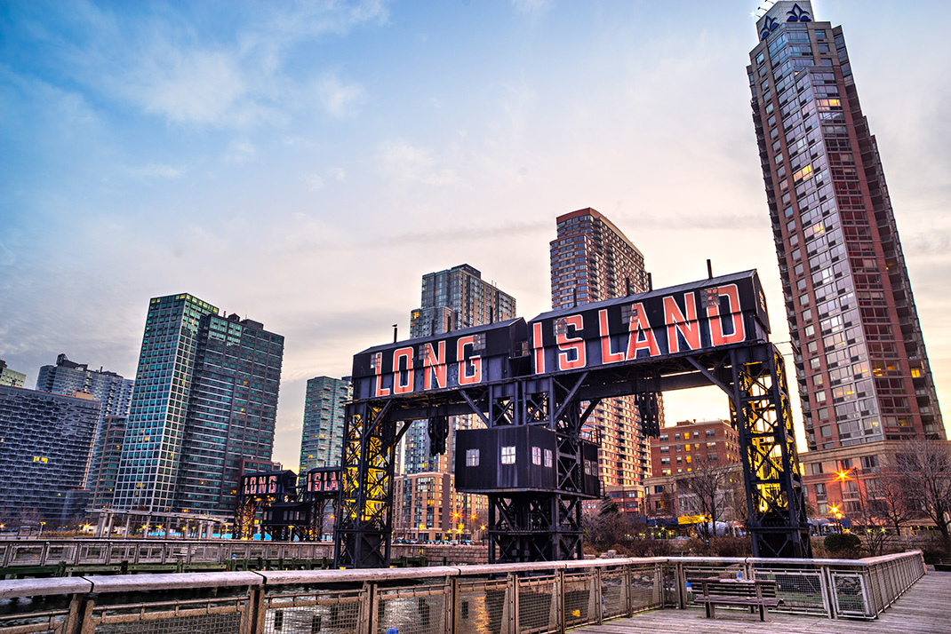 Hunters Point in Long Island City, Queens. Photo credit: Luciano Mortula - LGM / Shutterstock.com.